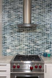 kitchen contemporary peel and stick backsplash glass backsplash
