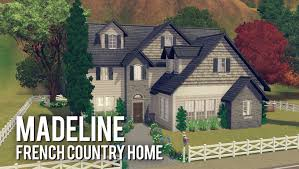 the sims 3 building madeline a french country home youtube