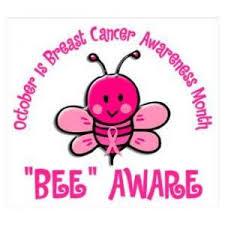Breast Cancer Awareness Meme - october is breast cancer awareness month bee aware