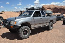 toyota t100 truck seeing a built toyota t100 on the trails here at moab