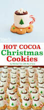 christmas treats cocoa marshmallow cookie cups