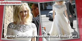 where did fearne cotton get her sequin maxi dress from at her
