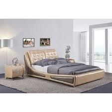 Beige Upholstered Bed Modern Upholstered Beds Allmodern