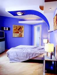 Colour Combination With Blue Interior Wall Painting Colour Combinations Blue Home Combo