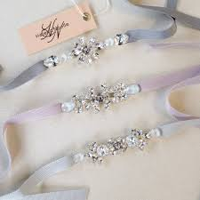 bridal sash dainty bridal belt simple bridal belt swarovski