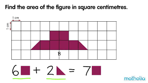 Area And Perimeter Worksheets 4th Grade Measuring Area Square Centimetres Youtube