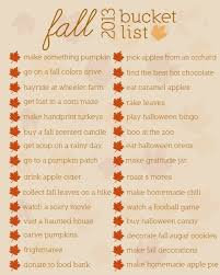 fall list printable buckets woods and