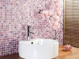 Mosaic Tiled Bathrooms Ideas Colors 87 Best Pink Bathrooms Images On Pinterest Pink Bathrooms