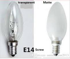 small incandescent light bulb 2018 e14 15w 25w 40w small tips bubbles candle bulbs tungsten