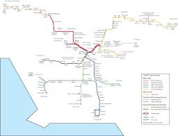 La Metro Train Map by 4 Cities Without A Good Public Transit System Attn