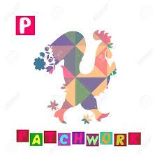 imagenes en ingles con la letra p año del gallo dibujos animados alfabeto inglés lindo color de la