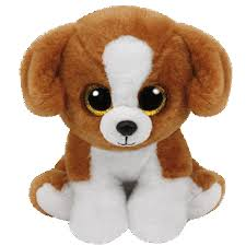 ty beanie boo plush stuffed animal snicky beagle dog 9