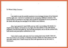 hardship letter for loan modification bio example