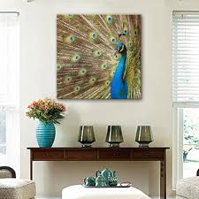 Painting Home Decor by Online Get Cheap Peacock Decor Aliexpress Com Alibaba Group