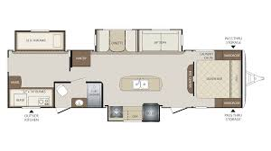 Keystone Floor Plans by 2018 Keystone Bullet 311bhs Model