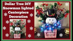 Dollar Tree Christmas Lights Dollar Tree Diy Snowman Decoration Lights Up Youtube