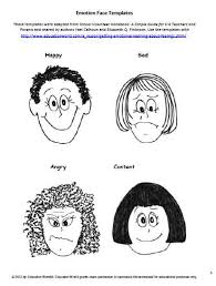 education world emotion face templates