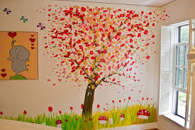 cny home decoration kid s room abstract tree mural modern kids new york by cny