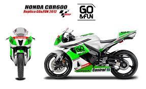honda cr 600 motorcycle graphic kit honda cbr 600 replica motogp go u0026fun