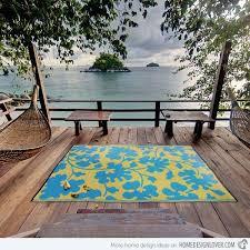 18 decorative outdoor area rugs home design lover