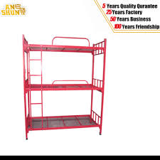Three Level Bunk Bed China Metal Army Dormitory 3 Level Bunk Bed China Metal Bed Bed