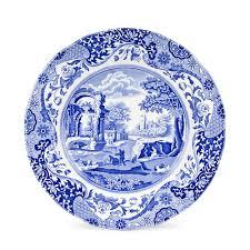 spode blue italian 10 inch dinner plates set of 4 spode uk