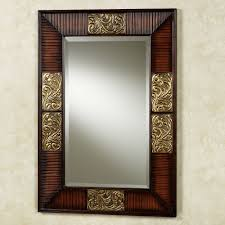 compact rectangle wall mirrors perth avanity transitional in l