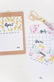 cute printable 2016 calendar by month free calendar template 2017