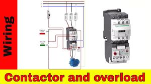 single phase motor contactor wiring diagram in urdu hindi youtube