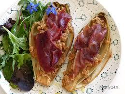 cuisiner les endives autrement endives caramélisées au jambon serrano marlyzen cuisine revisitée