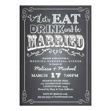 dinner invitation drink be married wedding rehearsal dinner invitation card