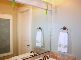 Bathroom Wall Mirror Ideas by How To Frame A Mirror Hgtv