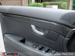 ocarbon com b6 a4 full 9 piece carbon fiber interior trim 550