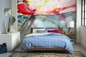 papier peint design chambre papier peint design abstrait izoa