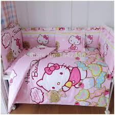 baby crib bedding set cot bedding sets 5 pcs baby bed set bedding
