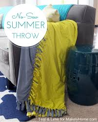 Yellow Throws For Sofas by 35 Creative Diy Throws And Blankets Diy Joy