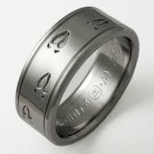 Duck Band Wedding Rings by Mens Black Titanium Wedding Bands Mens Titanium Wedding Bands