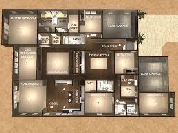 single story 5 bedroom house plans 5 bedroom one story floor plans nrtradiant