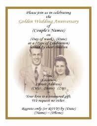 50th wedding anniversary invitation wording samples iidaemilia com
