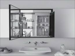 bathroom medicine cabinets with electrical outlet kitchen room awesome kohler medicine cabinet with electrical