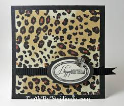 leopard print birthday card u2013 cards by stephanie