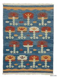 k0027790 blue new turkish kilim rug kilim rugs overdyed vintage