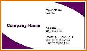 free printable business card templates sop format sample