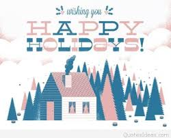 wishing happy holidays saying messages 2016
