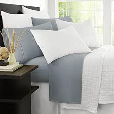 amazon com zen bamboo 1500 series luxury bed sheets eco