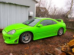 Every Color Of The Rainbow Mitsubishi Eclipse Gt