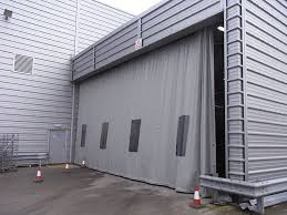 retractable curtain wall system u0026 industrial partition curtains