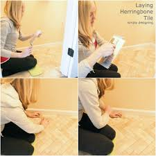 How To Tile A Floor Herringbone Tile Floors Diy Tile Thetileshop Thetileshop