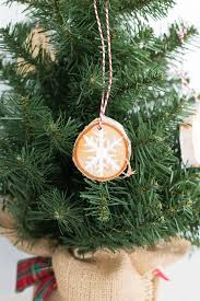 rustic wood painted ornaments domestically speaking