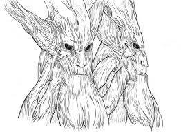 tree face tree face by nnee on deviantart